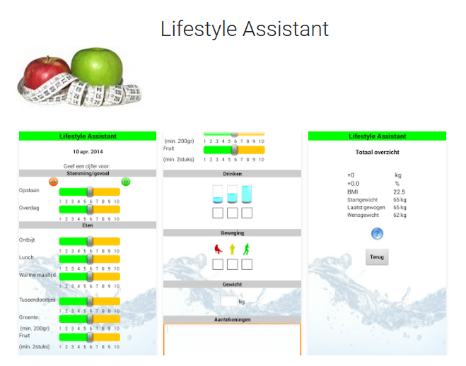 Lifestyle_Assistant_app